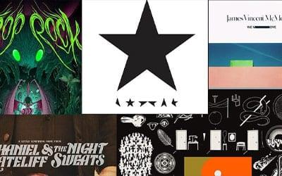 Audionamix 2016 Staff Album Picks