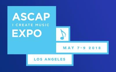 "ASCAP ""I Create Music"" EXPO 2018"