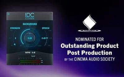 Audionamix IDC Nominated for CAS Award