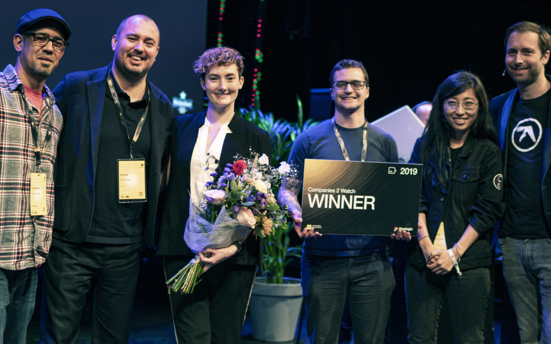 "ADE '19: Audionamix Wins ""Companies 2 Watch"" Competition"