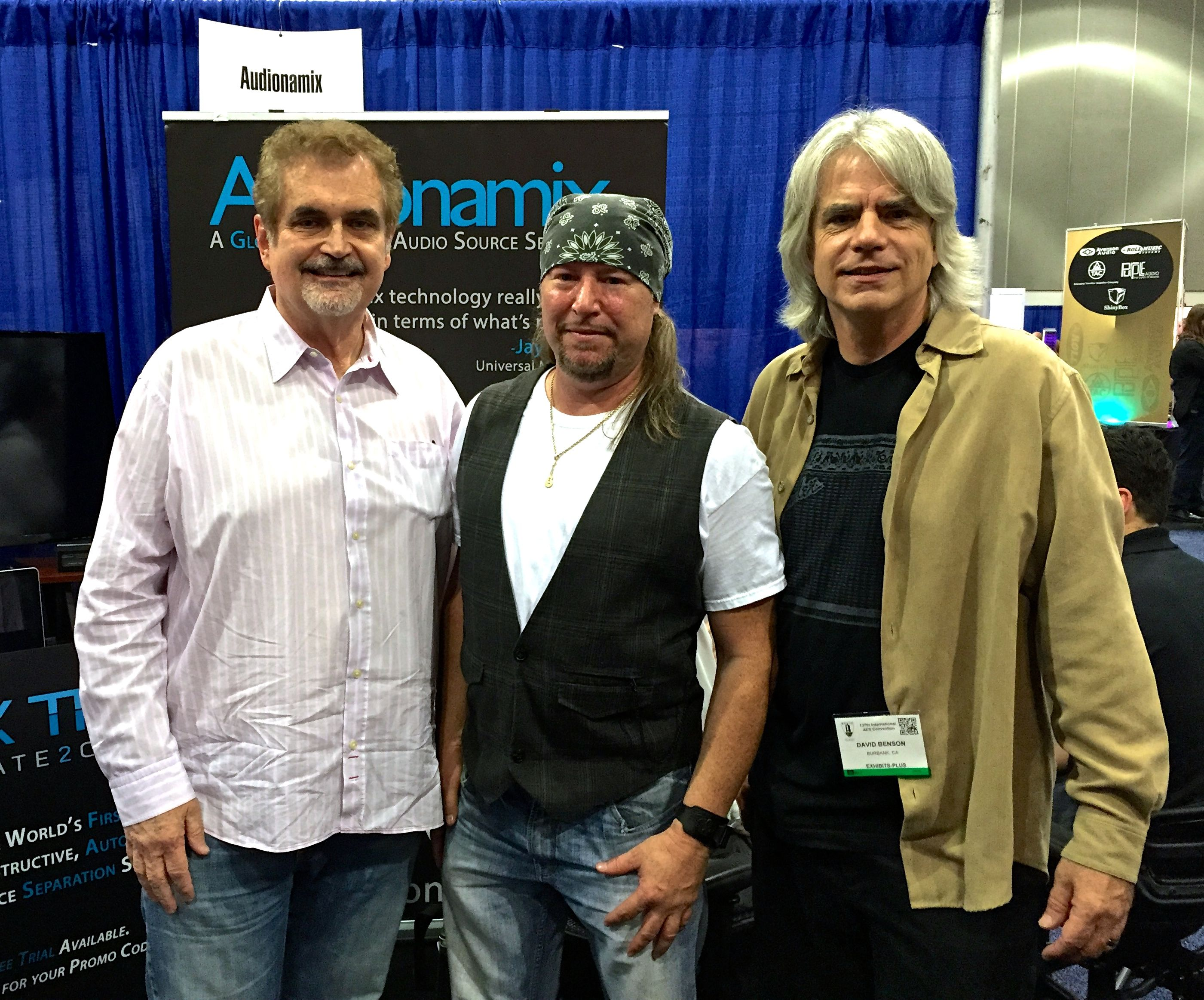 Bill Schnee, Rick Silva, Dave Benson