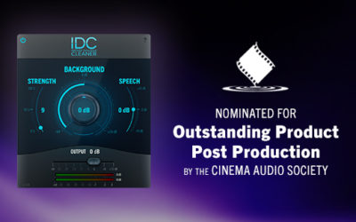 Audionamix IDC Nominated for CAS Award