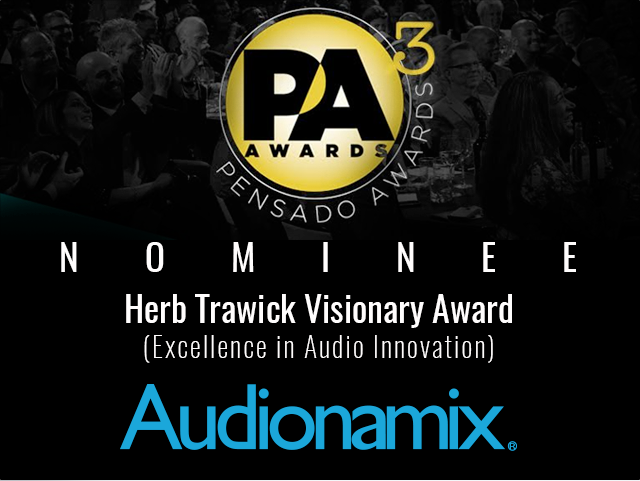 Audionamix nominated for Pensado Award