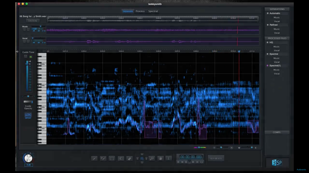 How to Sample an Instrument from a Full Song - Audionamix