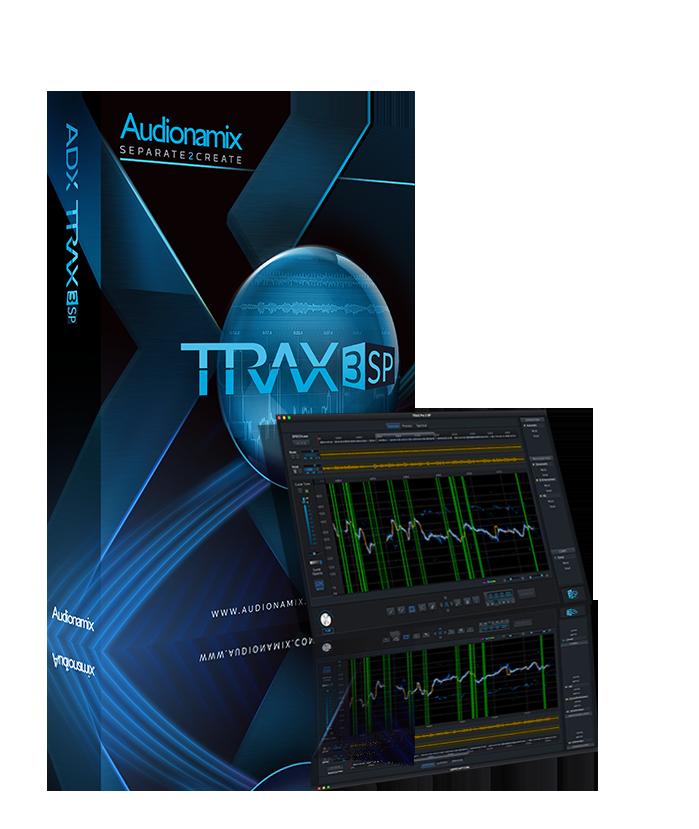 TRAX 3SP Box and screenshot image