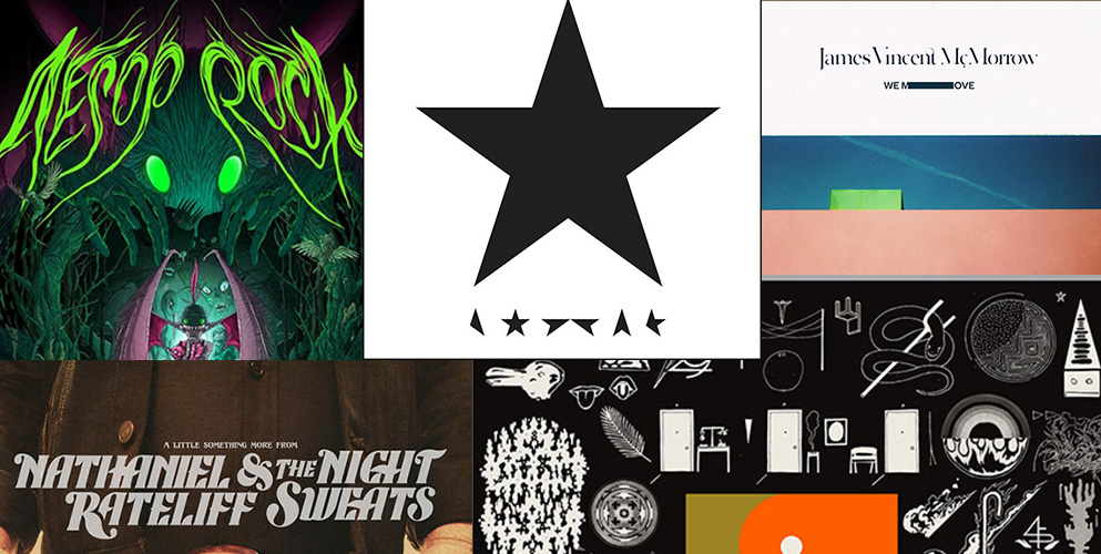 Audionamix 2016 Staff Album Picks