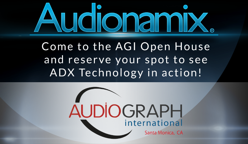 AudioGraph International Open House
