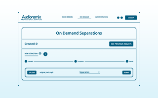 Separation Movement: Audionamix Releases Professional Services Web App