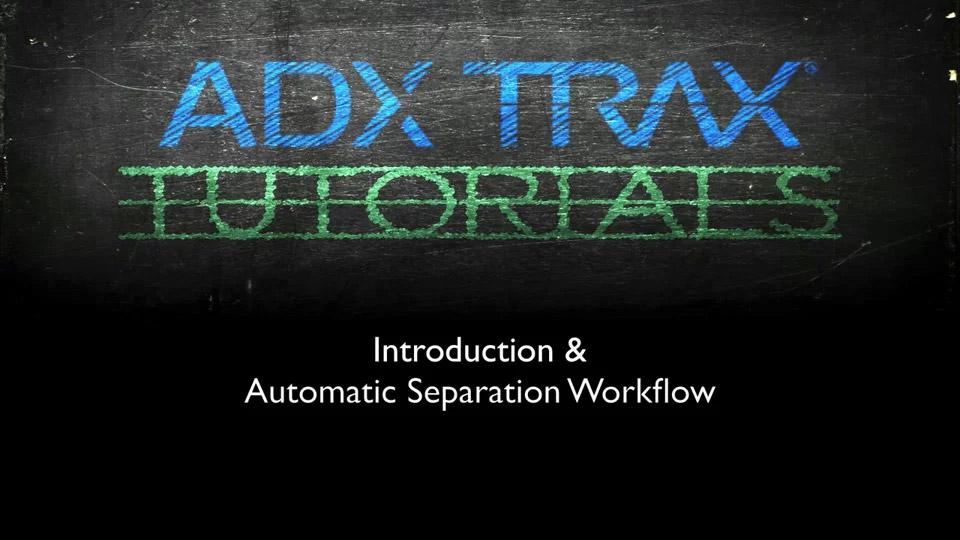 TRAX Tutorial 1