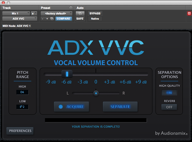 ADX VVC Walkthrough